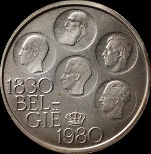 be 150j belgie 500 Belgische frank 1830 1980