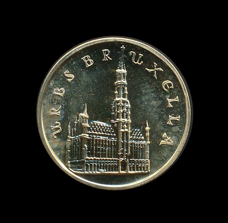 brussel 979 1976 goud munt