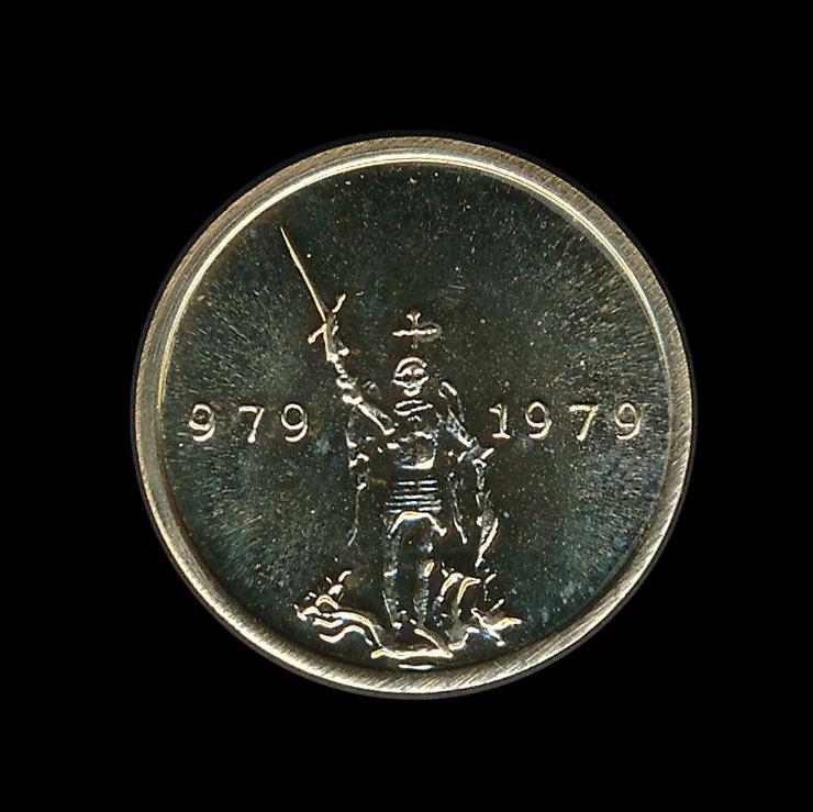 brussel 979 1976 goud penning