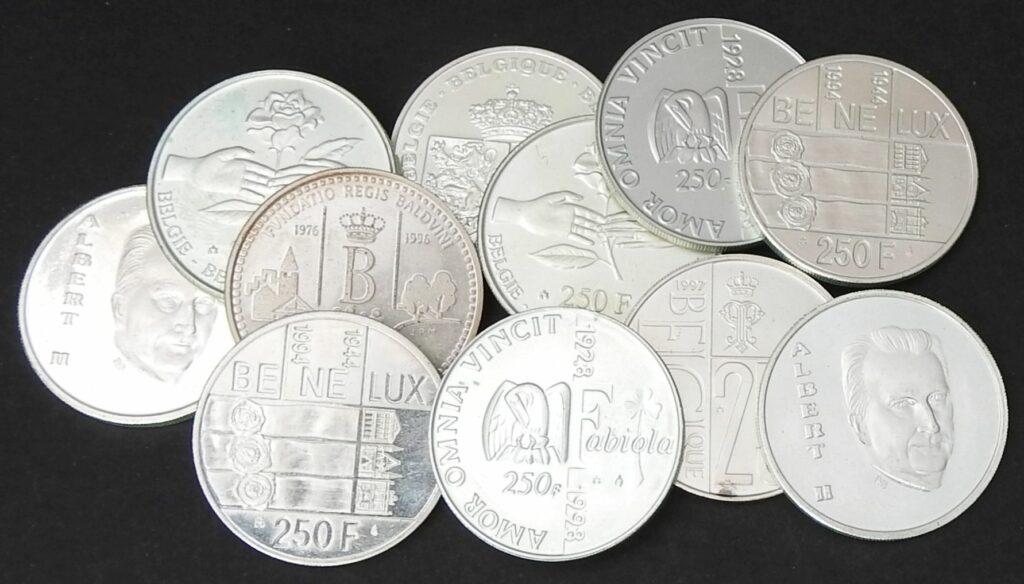belgie 250 frank albert