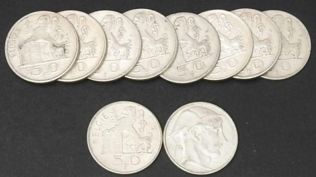 belgie 50 frank
