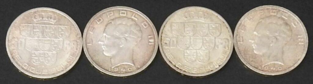 belgie 50 frank leopold III