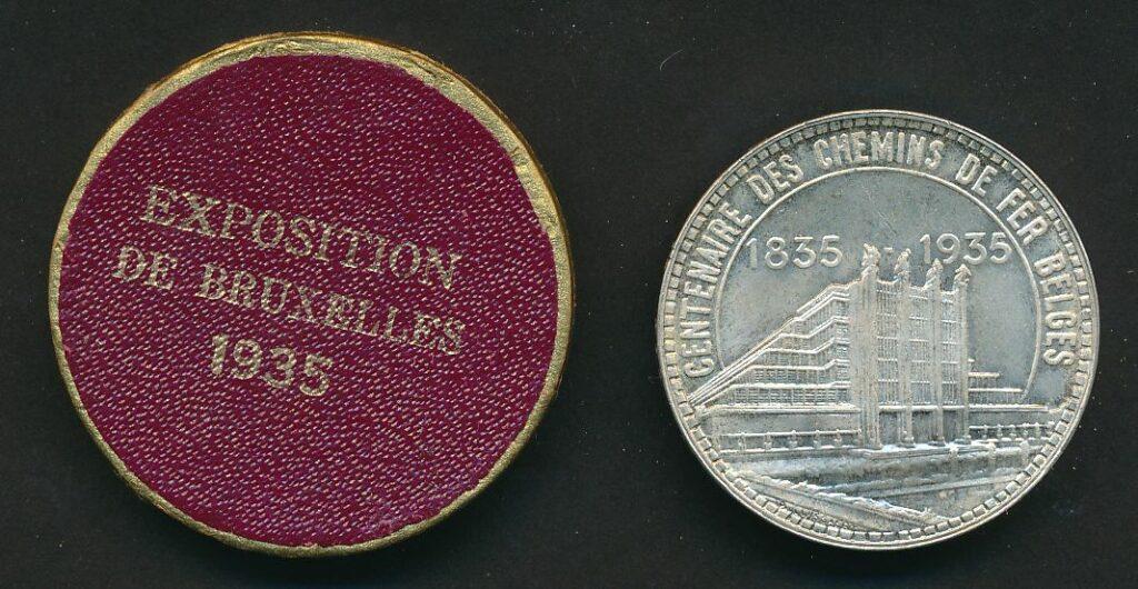belgie 50 zilver expo 35