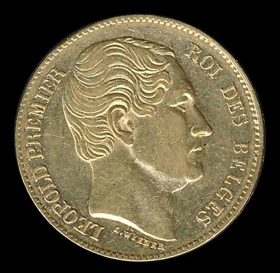 belgie goud 20 frank leopold premier