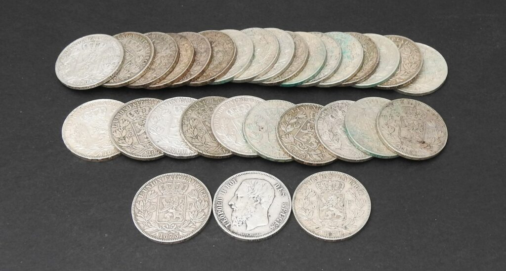 belgie zilver 5 frank leopold
