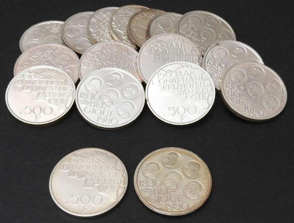 belgie 500 frank 1980
