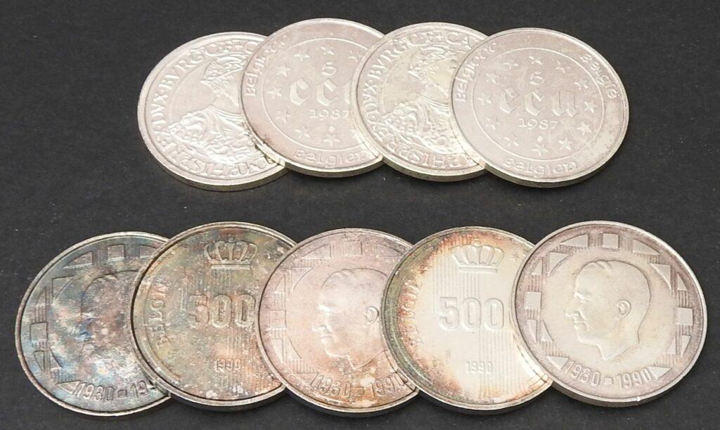 belgie 500 frank 5 ecu