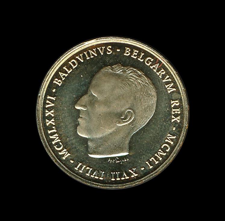 belgie goud b baldvinuw belgarym rex 1976