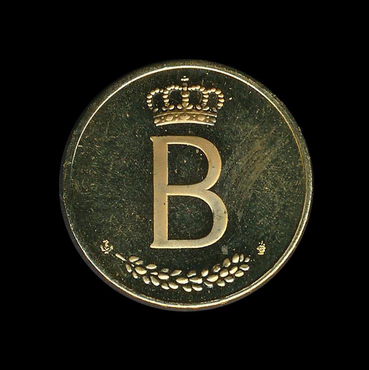 belgie goud b boudewijn