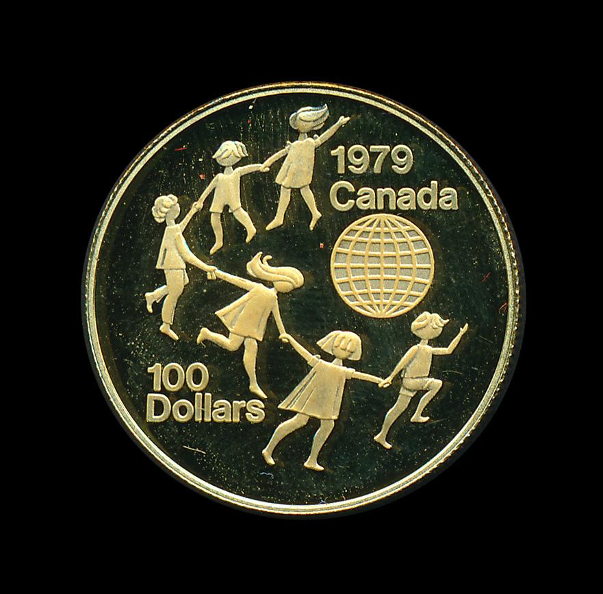 Canada gold 200 cad 1979