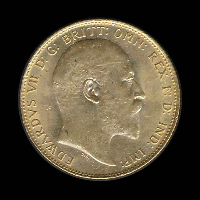 engeland goud front edwardus VII