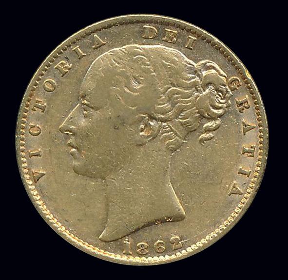 engeland goud front victoria 1862