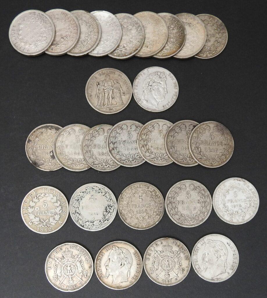 frankrijk zilver 5 frf