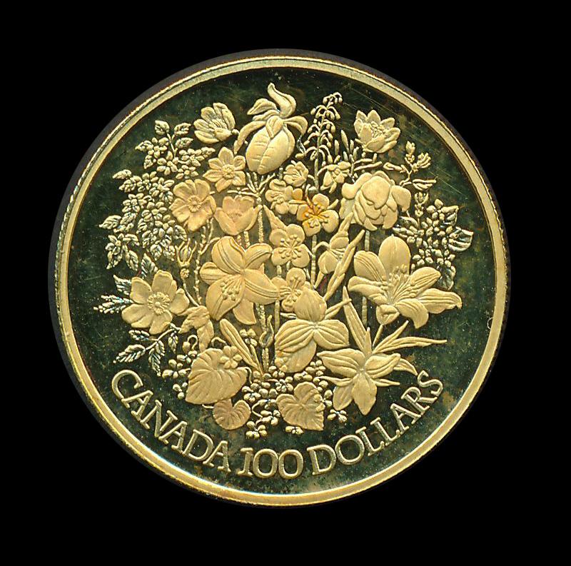 goud Canada 100 dollar