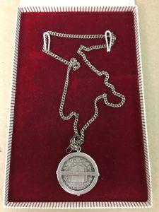 5 lire juweel zilver hanger