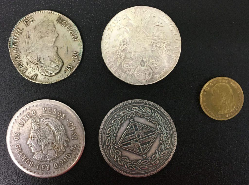 valse munten - deze munten zijn vals