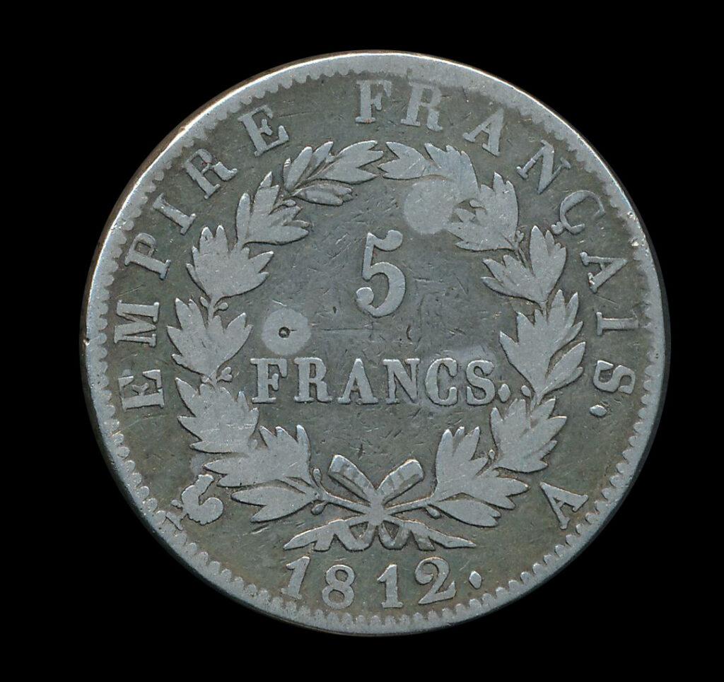 zilver frankrijk 5 franc 1812