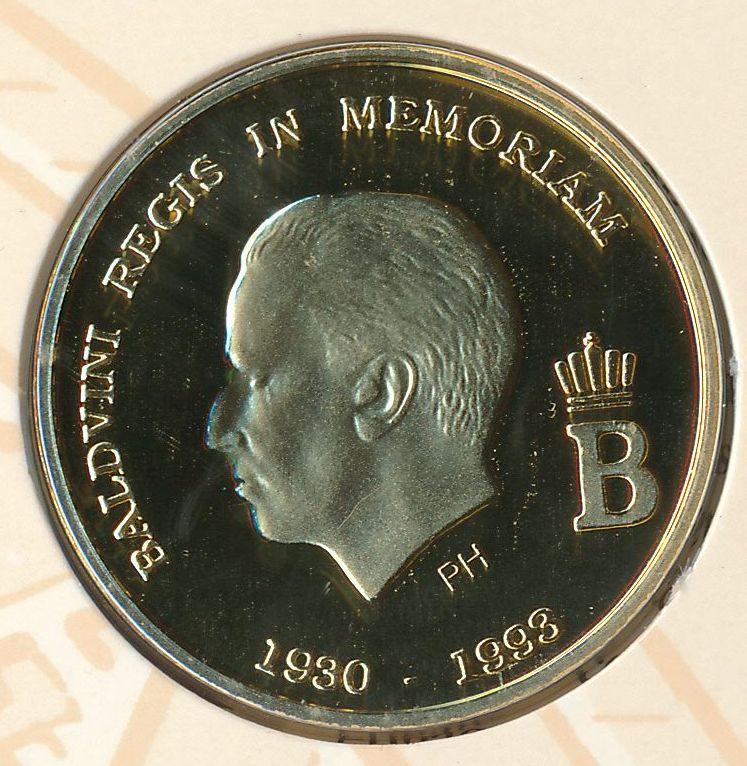 1930 1993 goud boudewijn baldvini regis in memoriam