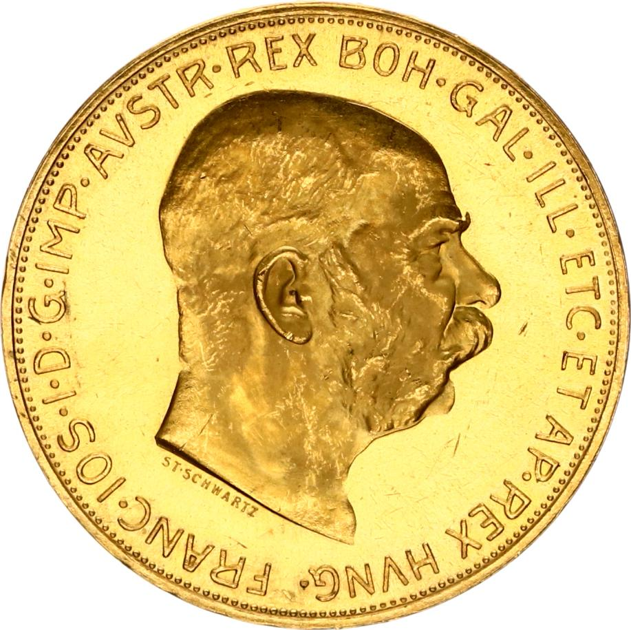 100 corona 1915 goud oostenrijk