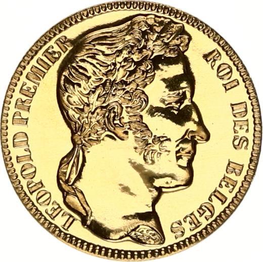 leopold premier roi des belges goud belgië